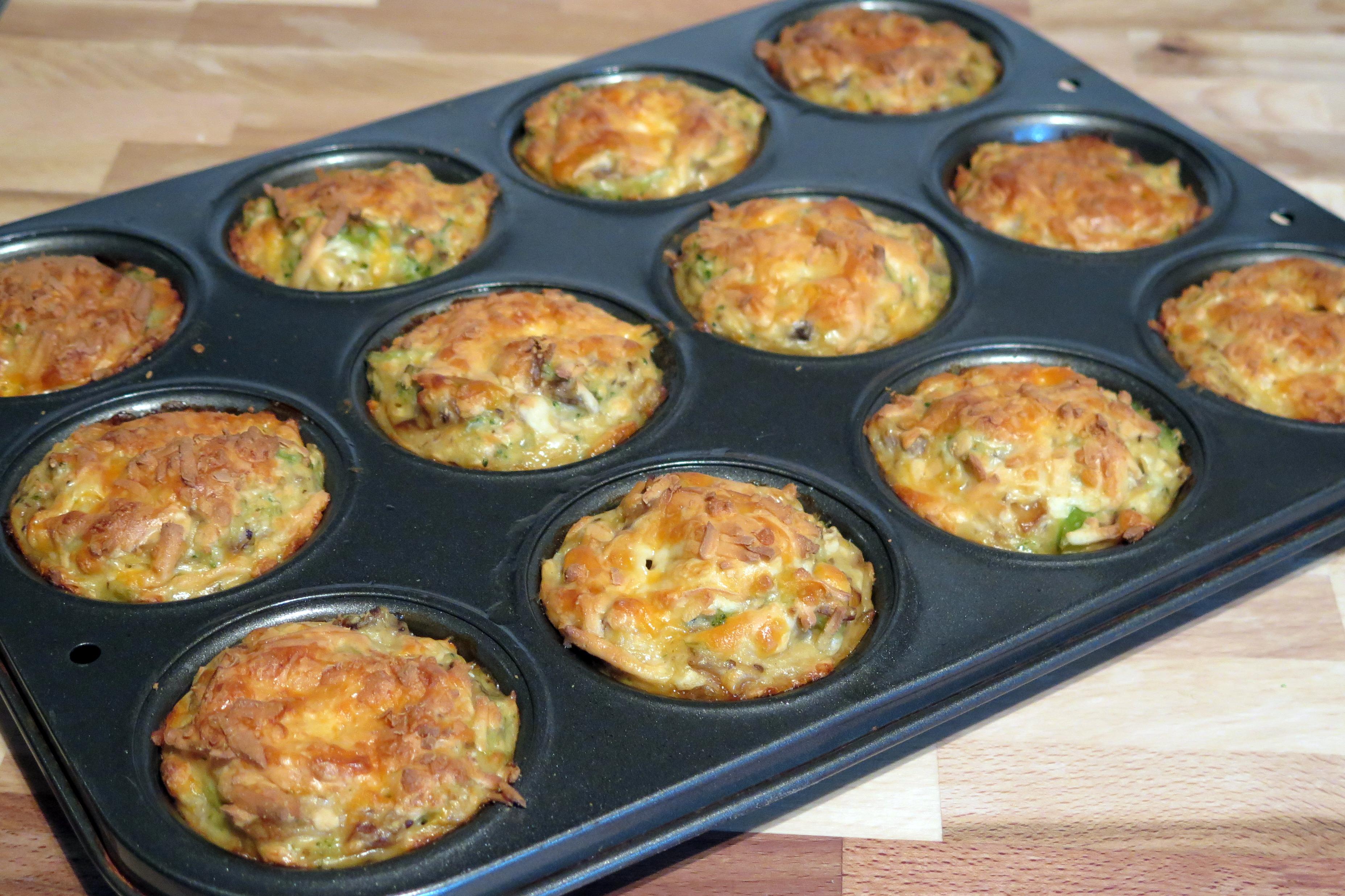 Mashed potato-broccoli muffins | Toronto Cooks